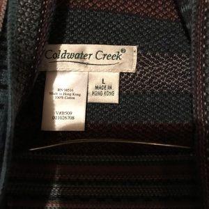 Coldwater Creek Sweater L